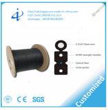 Câble fibre optique de faisceau de la gaine FTTH 36 de PVC avec une résistance à la traction plus élevée