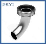 Cotovelo higiênico sanitário da tubulação da Macho-Soldadura de 90 graus do aço inoxidável (DY-E05)