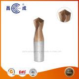 O design original a alta precisão algumas flautas de carboneto de sólidos no chanfro Ferramenta para corte de alta velocidade geral usado em tornos CNC disponível personalizada