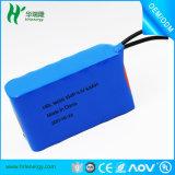 Nachladbarer Lithium-Ion12v 1000mAh 18650 Li-Ionbatterie-Satz für elektrischen Roller
