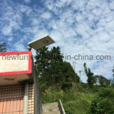 15W Nueva llegada calle la luz solar con Sensor PIR
