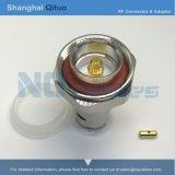 Штепсельная вилка DIN разъема RF (L29) прямая мыжская для кабеля LMR-400 или Syv-50-7 (DIN (L29) - J7)