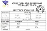 Напряжение питания на заводе 99 % Barbituric кислота порошок CAS 67-52-7