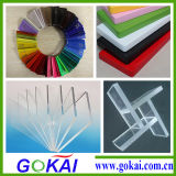 Gokai 공급 경쟁적인 쉬운 청결한 투명한 아크릴 장 가격