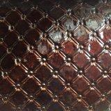 Cuoio artificiale del PVC del vinile per la tappezzeria Hw-693 della parete della decorazione dell'hotel