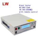 Lw 7112 AC Hipot 검사자 0-5kvac/12mA IR 0-2000mohm