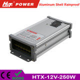 12V 20A 250W LEDの変圧器AC/DCの切換えの電源Htx