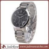Chronograph-Geschäfts-Quarz-Uhren, Edelstahl-wasserdichte Uhr, Armbanduhr Mangans