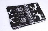 Шарф печатание снежка оленей грелки шеи типа женщин множественной толщиной связанный зимой (SK127)