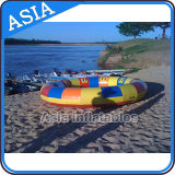 Spinning Inflatable Disc Boat / Inflável Spin Boat Water Toys