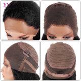Yvonne moda cabello virgen Brasileña de encaje peluca frontal de 360