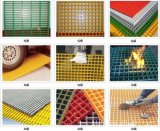 FRP GRP 섬유에 의하여 강화되는 플라스틱 섬유유리 격자판