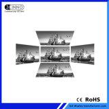 P4.81mm de altura da parede de vídeo RGB da escala de cinzentos exibe