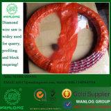 El diamante de la marca de fábrica de China Wanlong multifilar vio para el bloque del granito, diámetro: 7.2m m