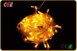 최고 가격이 크리스마스 훈장 LED 끈을%s 노란 LED 요전같은 빛에 의하여 점화한다