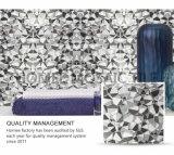 Baño de cristal de vidrio de inyección de tinta gris hexagonal Mosaico europeo