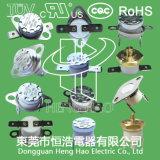 Termóstato de la Encajar a presión-Acción para el horno microondas