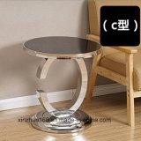 C 모형 테이블 새로운 Morden 디자인 블랙 커피 테이블