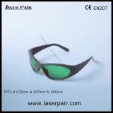 630 - 660nm Od 3+& 800 - 830nm Od 3+& 900 - стекла предохранения от глаза 1100nm Od5+ от Laserpair