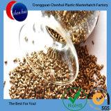 China chemisches HDPE/LDPE Plastik aufbereitetes goldenes Masterbatch