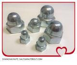 Edelstahl 304 316 Hex Schutzkappen-Abdeckung-Muttern DIN1587 M4