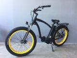 """"""" bicicleta eléctrica de la nieve gorda del neumático 26 con 250W al motor del engranaje 1000W para el crucero de la playa"""