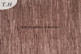 Brown 100 tejido chenilla de poliéster para cojín (Fürth31923)