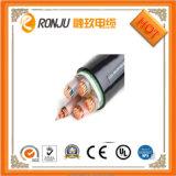 、PVCによっておおわれる電線Yjv絶縁される、CuおよびAlのコンダクター、XLPE Yjlv