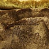 Goldstreifen-Entwurf Uphostery Gewebe gestrickt (BK502)