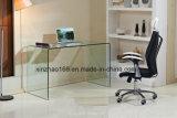 최신 구부리는 명확한 유리제 Moden 디자인 테이블