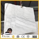 Естественный дешевый белый каменный мрамор белизны Guangxi