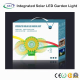 Luz solar Integrated do jardim do girassol com sensor de movimento
