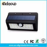 Indicatore luminoso resistente all'intemperie solare luminoso del sensore di movimento di obbligazione dell'indicatore luminoso 20 LED con i tre modi intelligenti per esterno