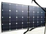 saco solar portátil elástico macio flexível Foldable do carregador de pano do painel de potência do telefone móvel de 100W Sunpower