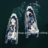 Barco de borracha inflável de Liya 17FT/5.2m Hypalon para a venda