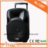 Fabrik-Preis-heißer Verkaufs-beweglicher Laufkatze-Lautsprecher mit LED-Licht