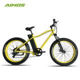 """La moda de 26"""" de los neumáticos de la Grasa Snow Cruiser Mountain Bicicleta eléctrica"""