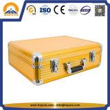 O alumínio amarelo carreg a caixa do barbeiro (HB-6331)