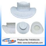 Sombrero de vaquero de papel de la paja de la playa para el verano