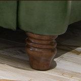 Sofà di cuoio alla moda di vendita calda per uso domestico (AS848)