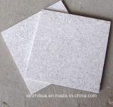 Carrelages rustiques de granit de perle de construction de matériau de façade blanche de mur