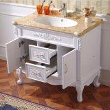 Novo design de gabinete do espelho de Chão armário de casa de banho de PVC (8001)