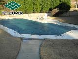 Inground Swimmingpool-Ineinander greifen-Sicherheitsabdeckung können Sie an gehen
