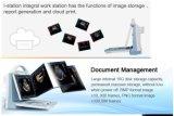 2018 Médicos Móveis baratos Cor 2D o equipamento de ultra-sonografia com Doppler Colorido da máquina de ultra-som