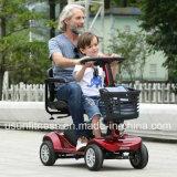 E-Vespa de cuatro ruedas de plomo barata 500W para Handicapped