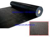 De antislip Mat van de Vloer van het Blad van het Patroon van de Vlecht van de Bevloering Rubber met Toevoeging