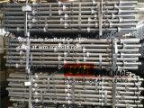 Het Staal Materiële Cuplock van de Bouw van de Bouw van het Systeem van de Steiger van het Slot van de kop