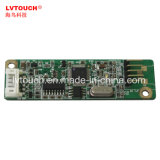 16: 9 de 13,3 pulgadas de cristal 5 cable para Monitor táctil resistiva