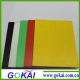 Scheda della gomma piuma del PVC di molti colori con bianco ed altri colori
