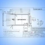 Van Sym320X240 B7V13 van de Schimmel 5.7inch van de Aanraking de Grafische LCD Vertoning van het Scherm 320*240
